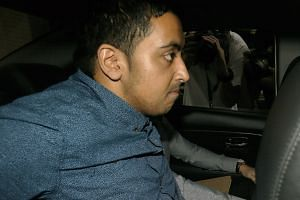Briton Yogvitam Pravin Dhokia is accused of acting rashly to endanger the personal safety of the F1 drivers involved in Sunday's Singapore Airlines Singapore Grand Prix race, near Turn 13 along Esplanade Drive. No one posted bail of $15,000 for him y