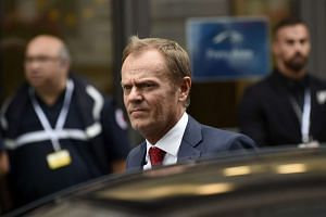 European Council president Donald Tusk urged leaders to stop fighting over a refugee quota deal and take urgent action to secure the bloc's borders.