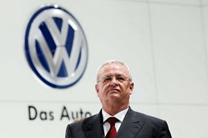Volkswagen chief executive Martin Winterkorn, who has resigned his post over the emissions scandal.