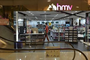 The last Singapore HMV store in Marina Square closed on Sept 30, 2015.
