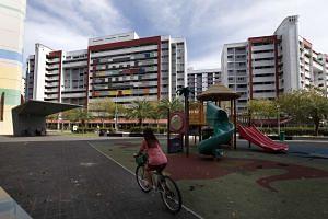 HDB flats in Tampines.