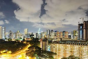 HDB flats in the Toa Payoh housing estate.