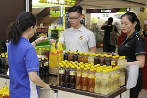 Sales of herbal drinks have soared as people try to keep themselves hydrated with cooling drinks during the haze.