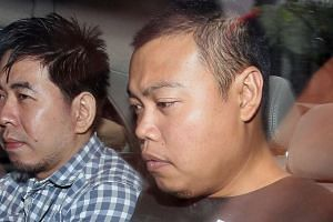 The trial of ex-police officer Iskandar Rahmat (right) for the 2013 murder of a father and son in Kovan will start in the High Court on Tuesday (Oct 20).
