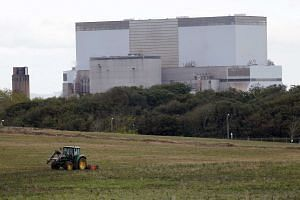 China is taking a 33.5-per cent share in the construction of two reactors at Hinkley Point, south-western England.