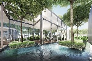 In the city fringe, there could be a slower price decline in the fourth quarter with the launches of Principal Garden (above) and Thomson Impressions, says Savills Singapore research head Alan Cheong.