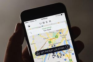 There is concern that platform-based businesses like Uber (left) and Airbnb operate with scant regard for existing legal frameworks and industry norms.
