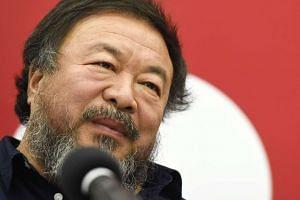 Chinese artist Ai Weiwei.