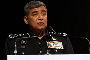 Inspector-General of Police Khalid Abu Bakar said the suspects were detained in simultaneous swoops in the three states by the Bukit Aman Special Branch Counter Terrorism Division.
