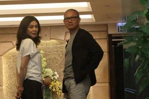 Rosamund Kwan and Pierre Chen, the billionaire she says she has divorced.