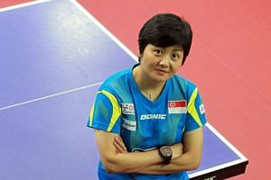 Jing Junhong (above) assumes a new role as chief coach (youth development), after she was replaced as the women's team head coach by her deputy Liu Jiayi. The STTA said players had requested a change to help them improve their game.