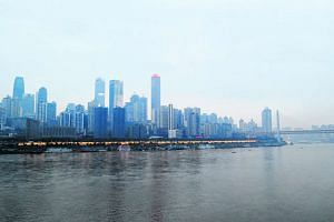 Chongqing is a sprawling metropolis with a population of seven million in the urban centre.