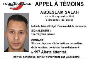 French police on Sunday released a photograph of one of the suspects in the Paris attacks, naming him as 26-year-old Salah Abdeslam.