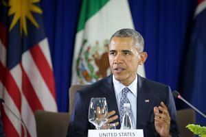 Trans-Pacific Partnership hosted by President Barack Obama in Manila, Philippines.