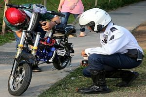 Stiffer penalties have been introduced as the number of offences related to the use of motorised bikes soars. The number of summonses issued for the use or sale of illegal motorised bikes rose from just 11 in 2008 to 1,280 in the first 10 months of t
