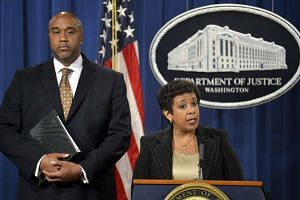"Lynch (right) said the scale of the alleged corruption was ""unconscionable""."