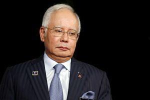 Malaysia's Prime Minister Najib Razak.