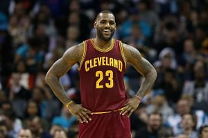 Cleveland Cavaliers star LeBron James during a game against the Charlotte Hornets on Nov 27.
