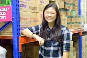 Desiree Yang, founder of Saltsteps, a volunteer group which distributes food nearing expiry at discounted rates to needy families.