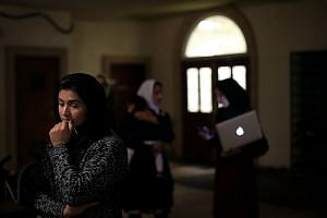 Muslim women at a prayer vigil at a mosque in Chino, California, on Dec 3. There needs to be books about the friendships between Muslims and Westerners - narratives that can reassure Westerners that Muslims are not inherently opposed to their way of