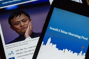 Jack Ma, chairman of Alibaba Group, is offering HK$2.06 billion (S$375.6 million) for Hong Kong's flagship English-language newspaper, South China Morning Post.
