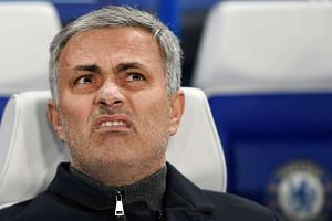 Sacked Chelsea manager Jose Mourinho in a file photo.