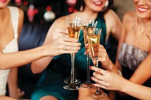 Guests can chill out with after-dinner drinks at a countdown party at Four Seasons Hotel's One-Ninety Bar.