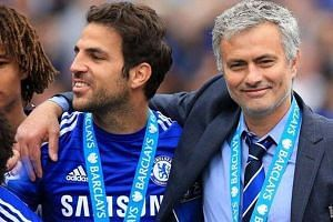 The photo sent out by Chelsea player Cesc Fabresgas with his tweet.