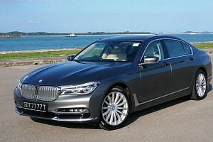 The new BMW 7-series.