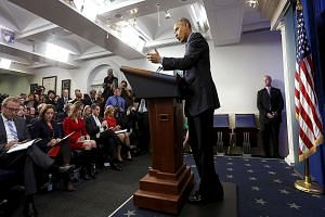President Obama emphasised the benefits that the Trans-Pacific Partnership trade deal will have for Americans at a press conference on Friday.