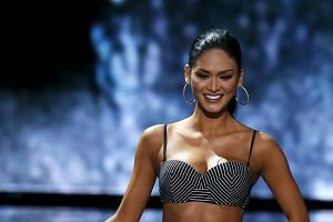 Miss Philippines Pia Wurtzbach is 'excited' to begin her duties as Miss Universe after winning the crown in Las Vegas on Dec 20. Host Steve Harvey had first announced that Miss Colombia Ariadna Gutierrez had won the title.