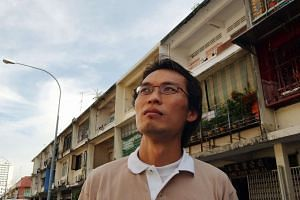 Mr Barnabas Lim in October 2003, when he became the talk of the town after his letter was published in The Straits Times.