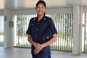 Being crowned Miss World Singapore last year in no way diminished Ms Dalreena Poonam Gill Ganesan's long-held desire to join the police force. She felt it was the right path for her because she loves taking on a challenge. She was also inspired by he