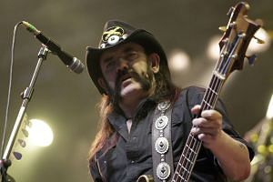 Lemmy died aged 70 following aggressive cancer.