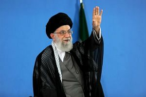 Iran's Supreme Leader Ayatollah Ali Khamenei in October 2015.