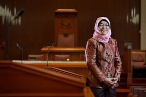 Madam Halimah Yacob will be renominated as Speaker of Parliament on Jan 15, 2016.