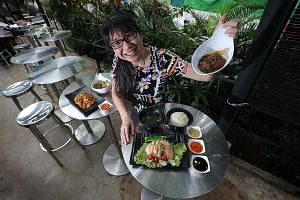 Qita In The Park's owner Genevieve Tan-McCully expanded its menu to offer set lunches to draw in the lunch-time crowd. Mr Gerald Png was inspired by his daughter to set up Soul Food, a modern European restaurant that aims to impart life skills to you