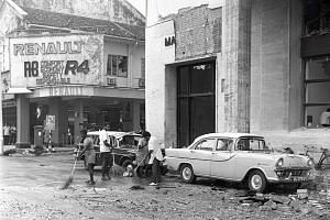 In March 1965, a bomb at MacDonald House in Orchard Road killed three people and injured 33.