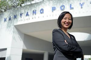 Nanyang Polytechnic principal Jeanne Liew says that for students who decide to join a polytechnic, their choice of courses should precede the choice of polys, as all five polys offer excellent learning experiences.