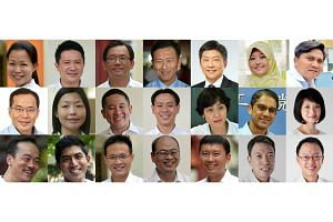 Nineteen MPs and two NCMPs will be making their debut in Parliament on Friday, Jan 15, 2016.