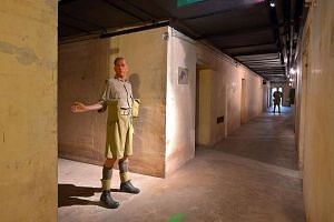 The Battle Box, set to reopen in March, will let members of the public walk through rooms of the former British underground command centre filled with exhibits, such as the wax figures of British soldiers, to tell the story of Singapore's fall.