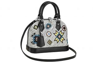 Louis Vuitton's Alma BB Bag in Epi Denim. Price in Singapore: $3,200; in Europe: around 1,478 euros (S$2,307).