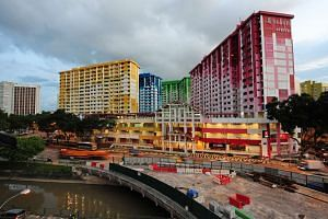 Rochor Centre photographed on Nov 15, 2011. It was expected to be be affected by the construction of the North-South Expressway.