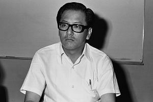 Former NTUC chairman and ex-MP Phey Yew Kok in 1973.