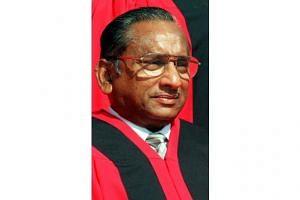 Ex-Supreme Court judge T S Sinnathuray died on Jan 18, 2016.