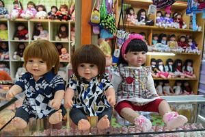 """These """"child angel"""" dolls could be used to smuggle contraband such as drugs."""