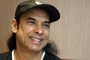 Bikram Choudhury speaking during an interview in 2008.