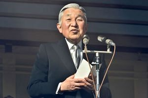Emperor Akihito expressed remorse over atrocities in the region by the Japanese imperial army 70 years ago.