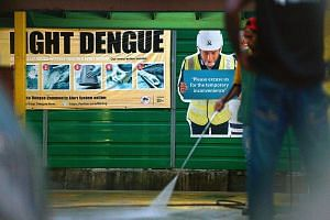 Minister for the Environment and Water Resources Masagos Zulkifli warned that the number of dengue cases is expected to be high this year, and could spike earlier than usual.