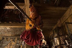 Actor Aaron Kwok plays a more mature Sun Wukong in The Monkey King 2.